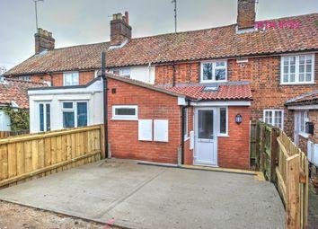 Thumbnail 3 bed terraced house to rent in Station Terrace, Framlingham, Woodbridge