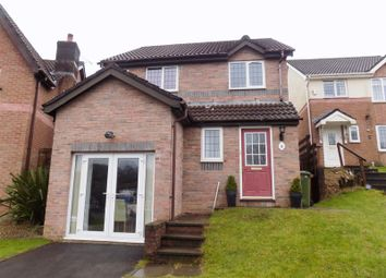 Thumbnail 3 bed detached house for sale in Clos-Y-Pant, Caerphilly