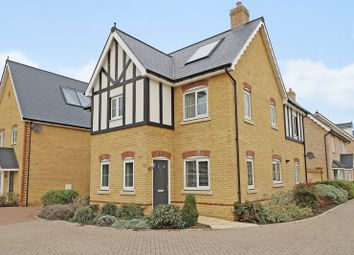 Thumbnail 4 bed detached house for sale in Repton Gardens, Milton, Cambridge