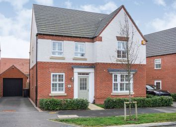 Thumbnail 4 bed detached house for sale in Orton Road, Warwick