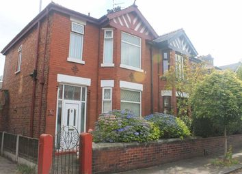 Thumbnail 3 bed semi-detached house for sale in Bristol Avenue, Levenshulme, Manchester