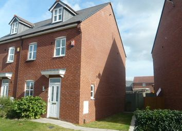 Thumbnail 4 bed town house to rent in Wychwood Village, Weston, Crewe, Cheshire