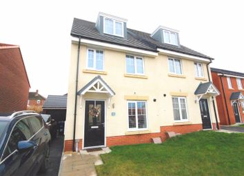 Thumbnail 3 bedroom semi-detached house for sale in Jarvis Drive, Ryton
