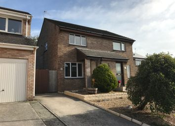 Thumbnail 2 bed semi-detached house to rent in Wavish Park, Torpoint