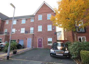 Thumbnail 4 bed town house for sale in Holywell Drive, Warrington