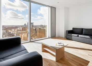 Thumbnail 1 bedroom flat to rent in Landmark West Tower, Canary Wharf