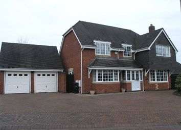 Thumbnail 4 bedroom detached house for sale in Hodgetts Drive, Halesowen