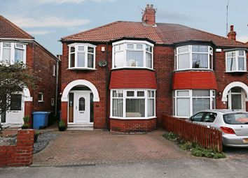 Thumbnail 3 bed semi-detached house for sale in Burniston Road, Hull