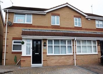Thumbnail 3 bed semi-detached house for sale in Greenfield Drive, Choppington