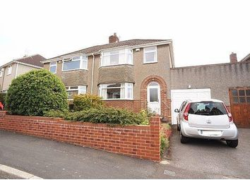 Thumbnail 3 bed property for sale in Leap Valley Crescent, Downend, Bristol