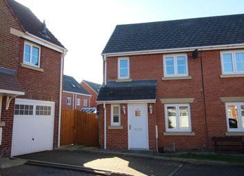 Thumbnail 3 bed semi-detached house to rent in Main Street, Buckshaw Village, Chorley