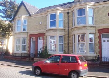 Thumbnail 3 bedroom shared accommodation to rent in Edinburgh Road, Kensington, Liverpool