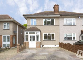 Thumbnail 3 bed semi-detached house for sale in Dominion Drive, Collier Row, Essex