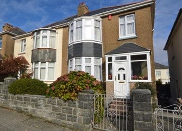 Thumbnail 3 bed semi-detached house for sale in Birchfield Avenue, Plymouth, Devon