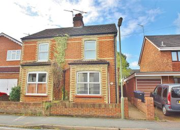 Thumbnail 2 bed semi-detached house to rent in Victoria Road, Knaphill, Woking