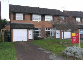 Thumbnail 3 bedroom semi-detached house to rent in Harrier Close, Woodley, Berkshire