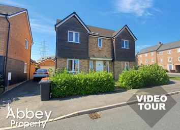 Thumbnail 4 bed detached house to rent in Fieldfare, Leighton Buzzard