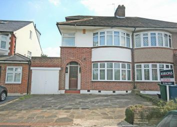 Thumbnail 4 bedroom semi-detached house for sale in St. Michaels Crescent, Pinner, Middlesex
