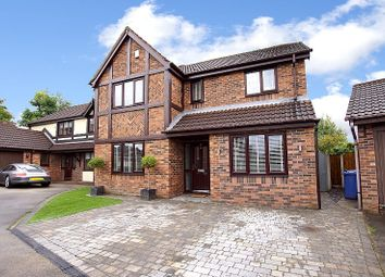 Thumbnail 4 bed detached house for sale in Harrogate Close, Warrington