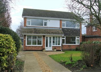 Thumbnail 4 bed detached house for sale in Elsea Drive, Thurlby, Bourne, Lincolnshire