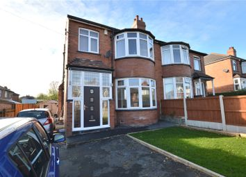 Thumbnail 5 bed semi-detached house for sale in Montagu Avenue, Oakwood, Leeds