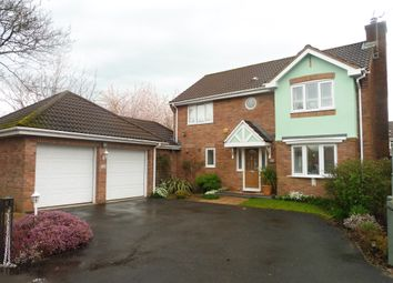 Thumbnail 4 bed detached house for sale in The Meadows, Marshfield, Cardiff