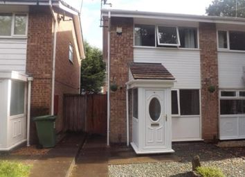 Thumbnail 2 bed semi-detached house for sale in Donnington Close, Redditch, Worcestershire