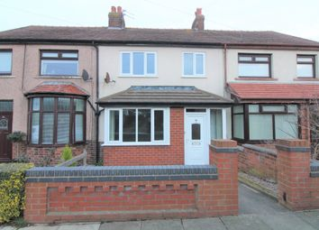 Thumbnail 3 bed terraced house for sale in Fairfield Avenue, Normoss, Lancashire