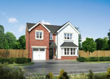 "Thumbnail 4 bed detached house for sale in ""Hampsfield"" at Palladian Gardens, Hooton Road, Hooton, Wirral"