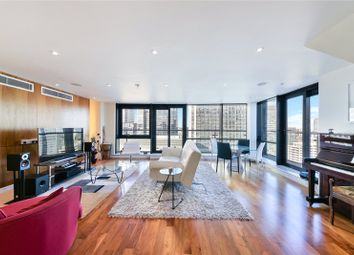 Thumbnail 3 bedroom flat for sale in Discovery Dock Apartments, 3 South Quay Square, London