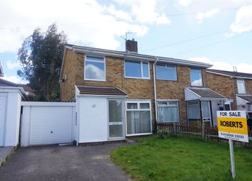 Thumbnail 3 bed semi-detached house for sale in Westgil Pen Ffordd, Blackwood, Caerphilly