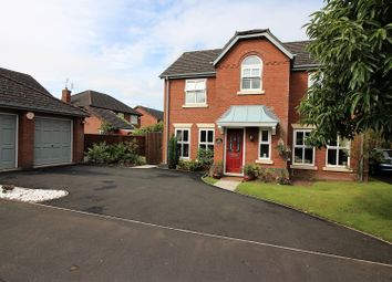 Thumbnail 4 bed detached house for sale in Leaside Way, Wilmslow