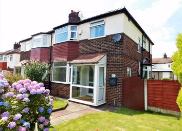 Thumbnail 3 bed semi-detached house for sale in Wicklow Avenue, Cheadle Heath, Stockport