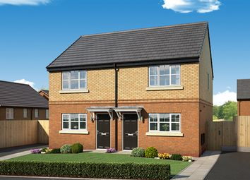 "Thumbnail 2 bed property for sale in ""The Haxby"" at Newbury Road, Skelmersdale"