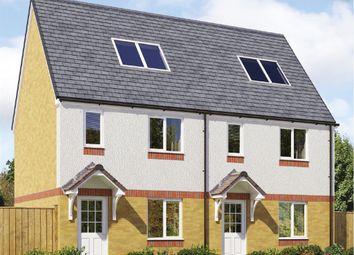 "Thumbnail 3 bed terraced house for sale in ""The Brodick "" at Lochview Terrace, Gartcosh, Glasgow"