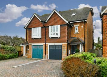 Thumbnail 3 bed town house for sale in Poplar Close, Epsom Downs, Surrey