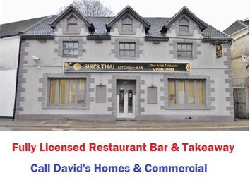 Thumbnail Restaurant/cafe for sale in Park Street, Treforest, Pontypridd