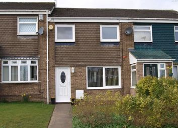 Thumbnail 3 bed terraced house for sale in Newlyn Drive, Cramlington
