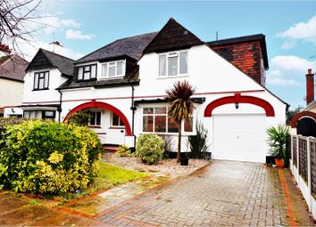 Thumbnail 4 bedroom semi-detached house for sale in St. Augustines Avenue, Southend-On-Sea