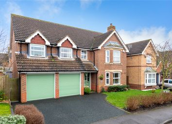 Thumbnail 5 bed detached house for sale in Hermes Way, Sleaford, Lincolnshire