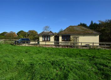 Thumbnail 4 bed detached bungalow for sale in Wootton Road, Tiptoe, Lymington, Hampshire