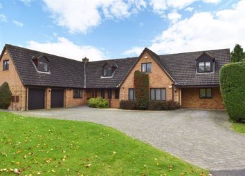 Thumbnail 4 bed detached house for sale in Tiverton Avenue, Kingsthorpe, Northampton
