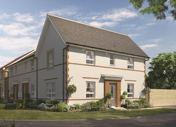 """Thumbnail 3 bedroom semi-detached house for sale in """"Moresby"""" at Market Place, Chippenham"""