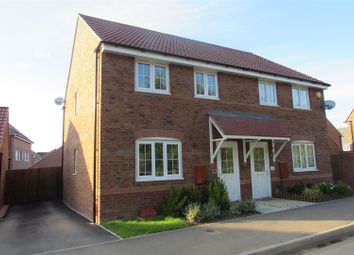 Thumbnail 3 bed semi-detached house to rent in Windlass Drive, Wigston