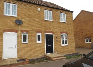 Thumbnail 3 bed property to rent in Grenadier Close, Bedford