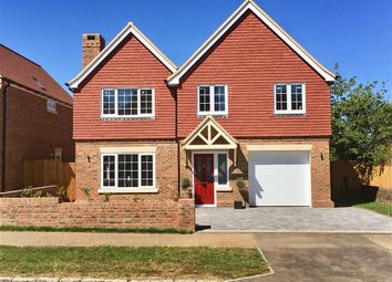 Thumbnail 5 bed detached house for sale in London Road, Ashington, West Sussex