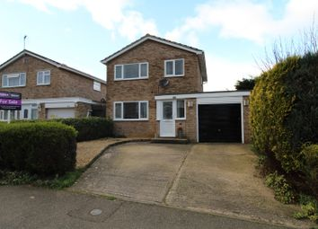 Thumbnail 3 bedroom detached house for sale in Tennyson Drive, Newport Pagnell