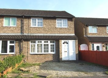 Thumbnail 3 bed semi-detached house to rent in Avon Crescent, Bicester