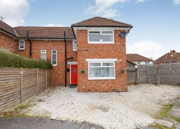 Thumbnail 3 bedroom semi-detached house for sale in Hampton Place, Wednesbury