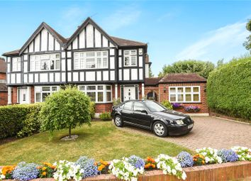 Thumbnail 4 bed semi-detached house for sale in Rodney Gardens, Pinner, Middlesex